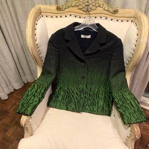 Prada wool runway coat